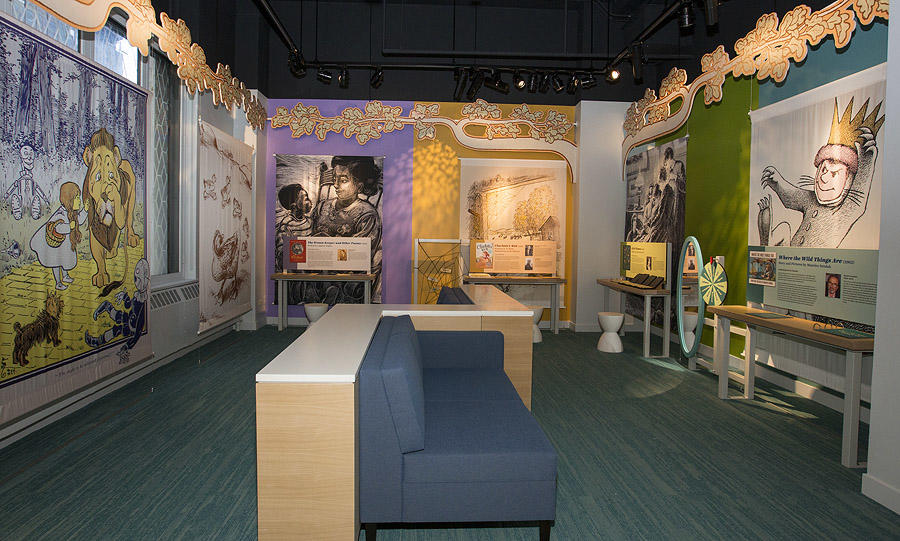 Children's Literature Gallery at American Writers Museum Chicago