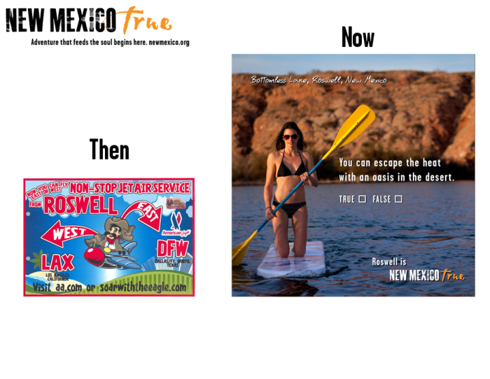 NM True Community Ads: Then and Now Roswell