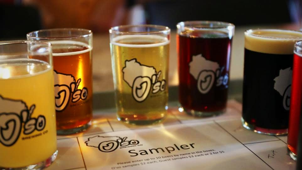 O'so Brewing Sampler