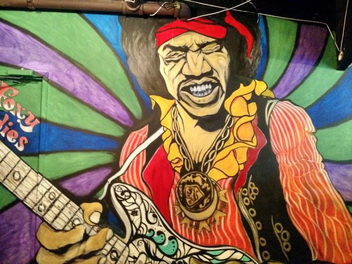 Luna Live Jimi Hendrix mural