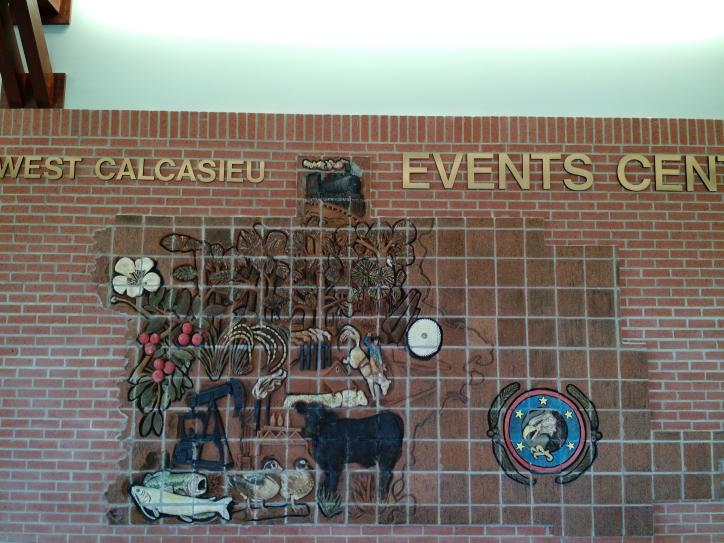 West Cal Event Center mural
