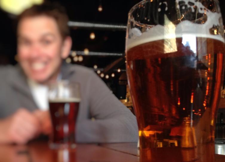 Smiles, Pint of Beer
