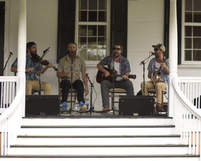 Music on the Porch at Moorefields