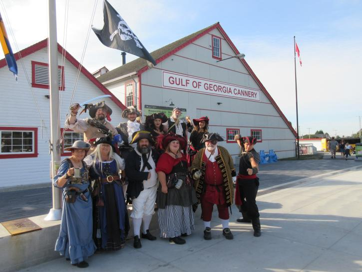Pirate Weekend at the Cannery - Photo: Gulf of Georgia Cannery Society