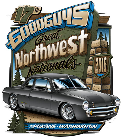 Goodguys 2018 logo