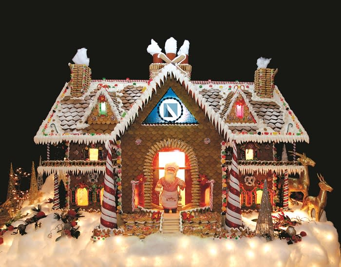gingerbread house at bay area houston - Bay Area Christmas Events