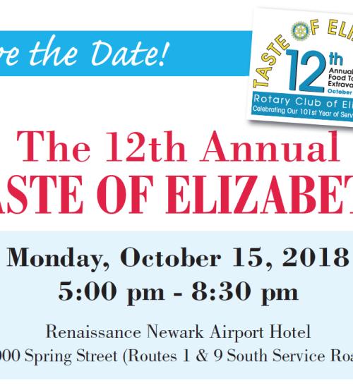 12th Annual Taste of Elizabeth