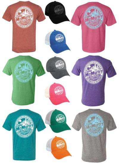 Lake McMurtry tees