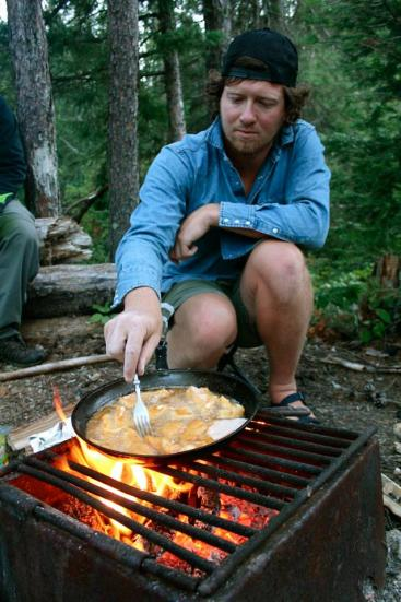 Paul Epp's epic camping cooking.