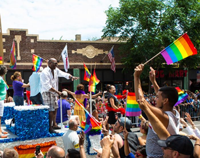 Pride Parade in Chicago
