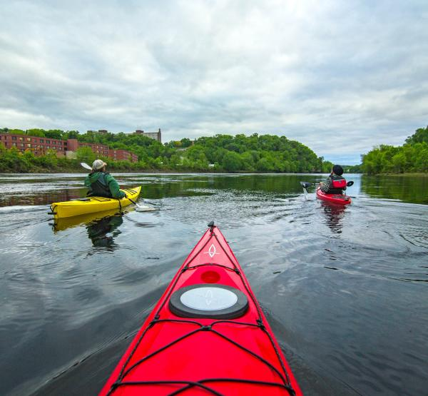 Kayaking the Chippewa River Water Trail in Eau Claire, Wisconsin
