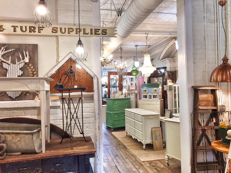 Blue Door Antiques Shop