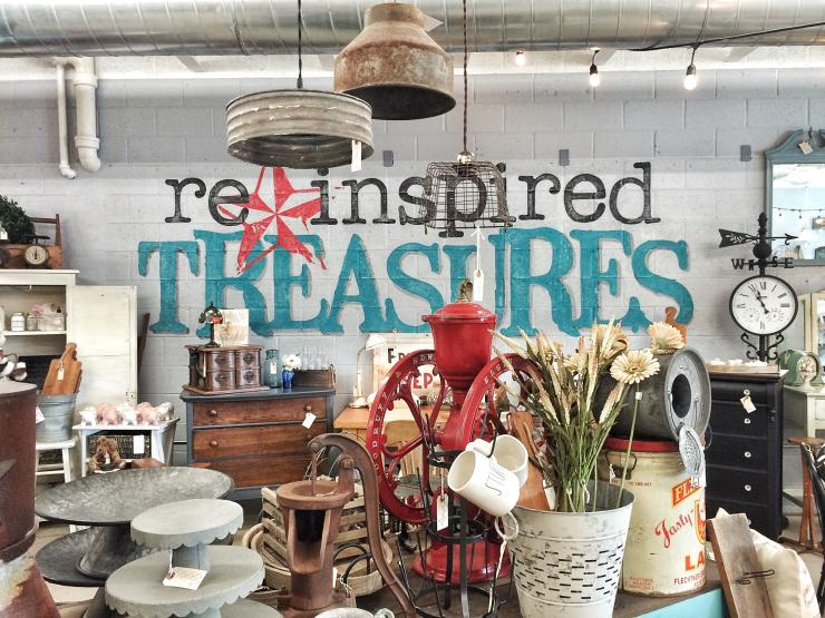 Reinspired Treasures Antiques Shop