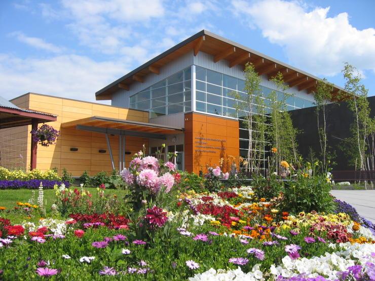 Morris Thompson cultural and Visitors Center Fairbanks, Alaska