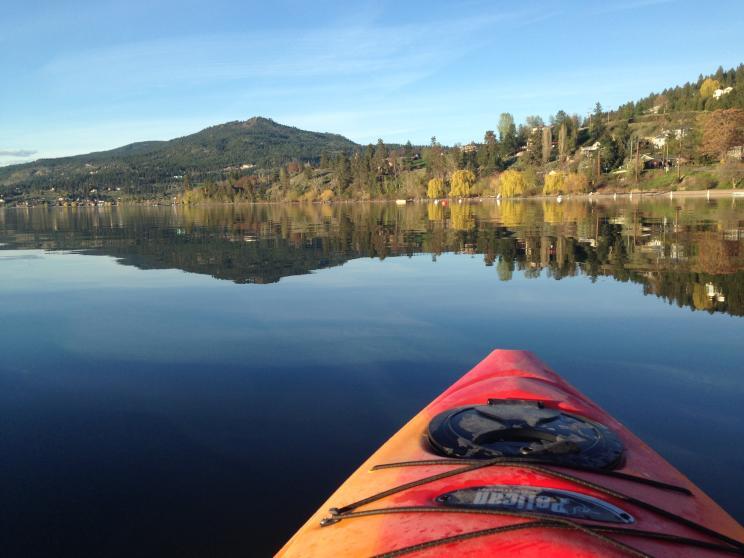 Kayaking the Okanagan Centre