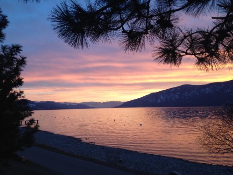 Lake Country Sunset