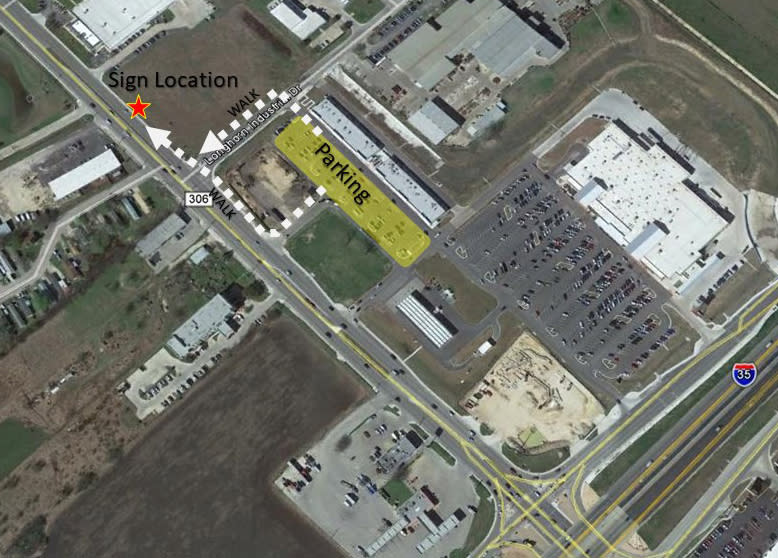 Jan-Kennady-Sign-Dedication-Parking-Map