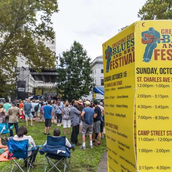 Crescent City Blues & BBQ Festival