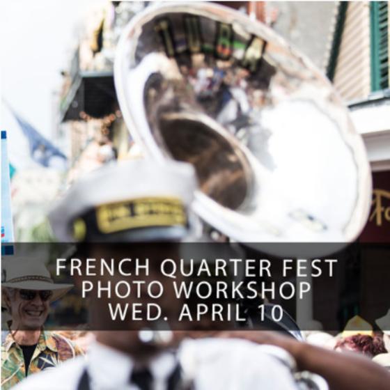 French Quarter Festival Workshop 2019