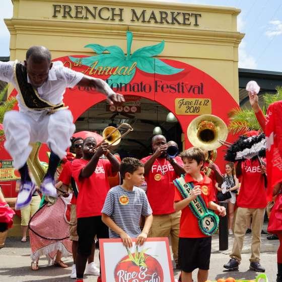 French Market Creole Tomato Festival