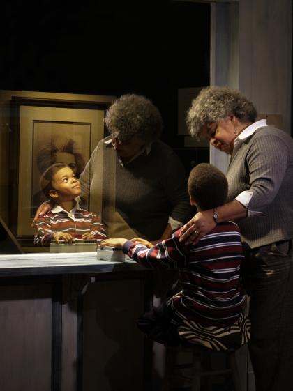 Learning about Frederick Douglass at the Rochester Museum & Science Center