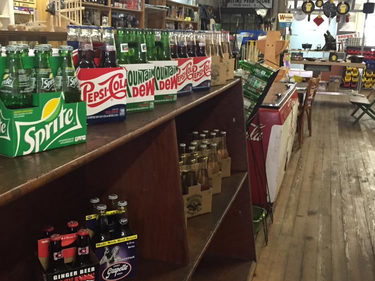 Stanfield's General Store Soda Bottles