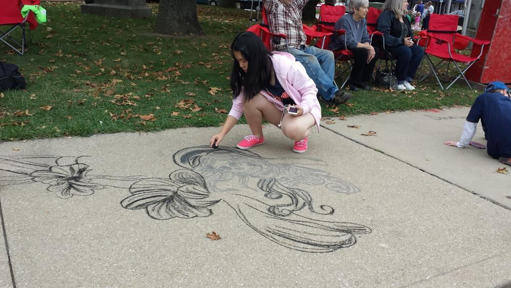 Martinsville Chalk Art Contest