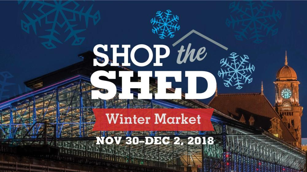 Shop the Shed Winter Market at Main Street Station