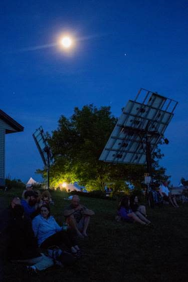 The Energy Fair is held annually the third weekend in June in Custer, Wisconsin.