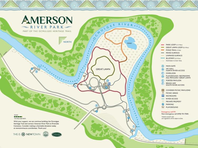 Amerson Map