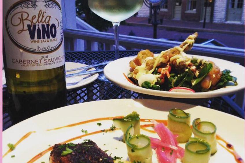 Bella - Salmon Wine