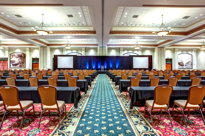Grand Ballroom Classroom Setting