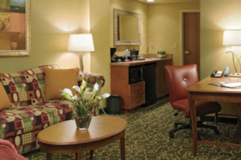 Standard suite living area