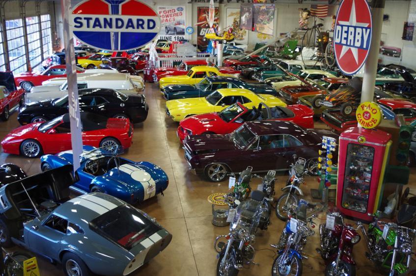 Fast Lane Cars - Showroom Wide Shot