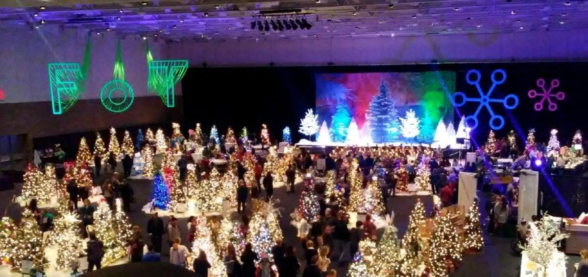 Festival of Trees at Mayo Civic Center in Rochester, MN