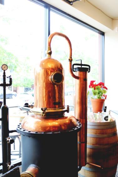 Okanagan Spirits Copper Still