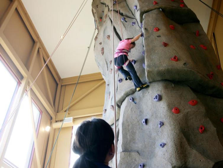 Energyplex Rock Wall