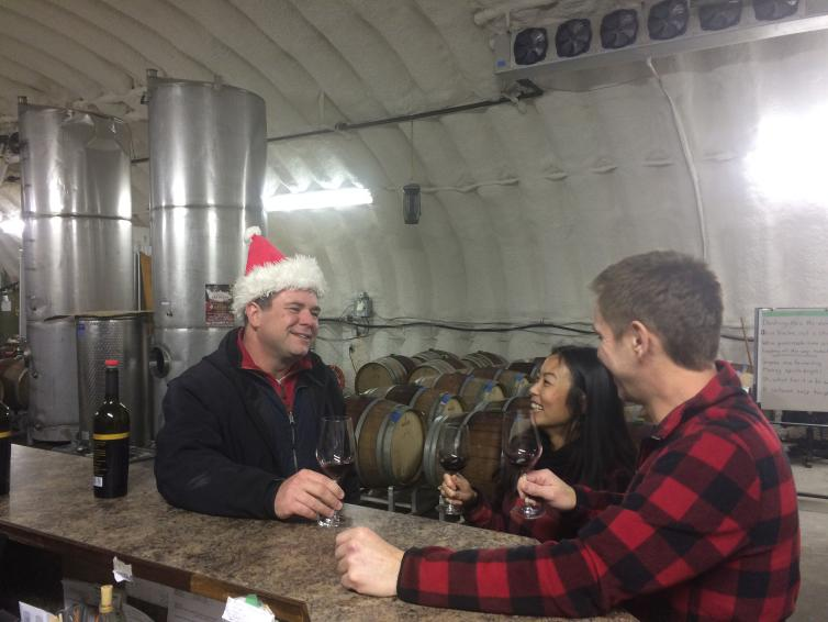Steve at Rollingdale Winery