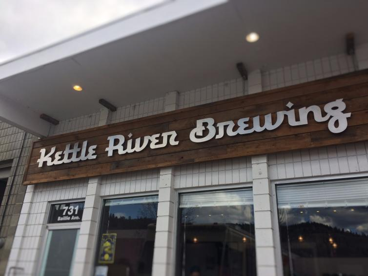 Kettle River Brewing Sign