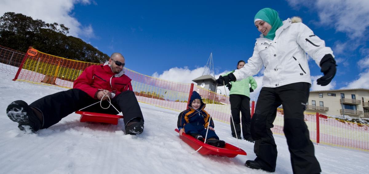 Mt Buller snowfields, Regional Victoria