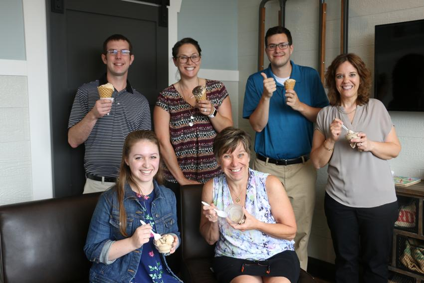 Cheshire Farms Creamery FLVC enjoying FLX Visitors Confection
