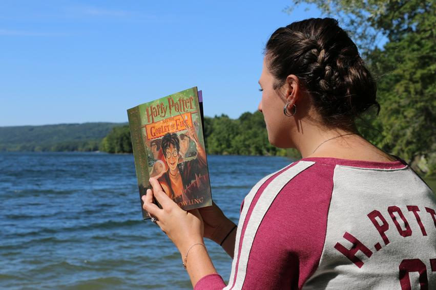 HP and the Goblet of Fire on Canadice Lake