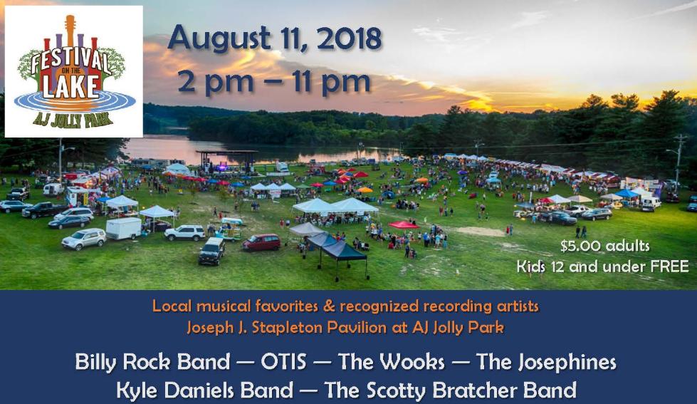 AJ Jolly Festival on the Lake
