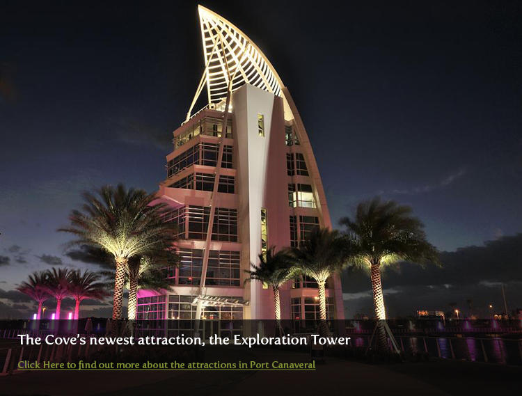 Exploration Tower in Port Canaveral