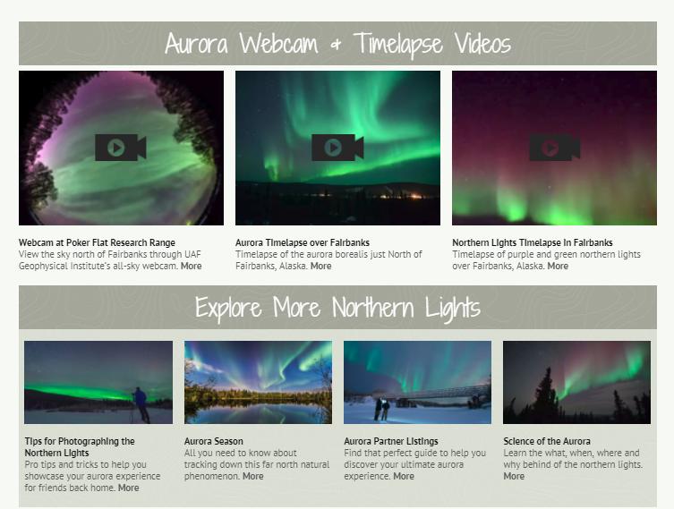 Aurora Tracker | Explore Fairbanks