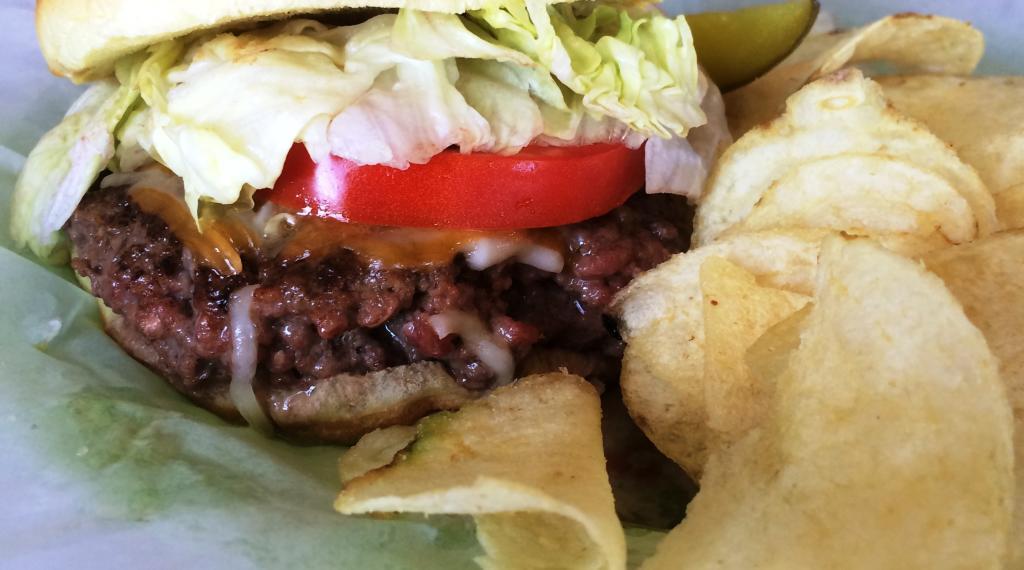 $100 burger