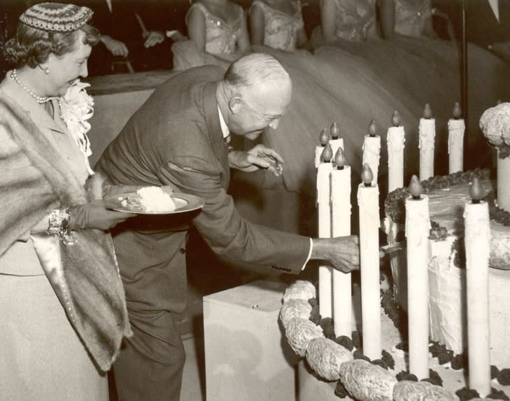 Dwight D. Eisenhower Birthday Cake in Hershey