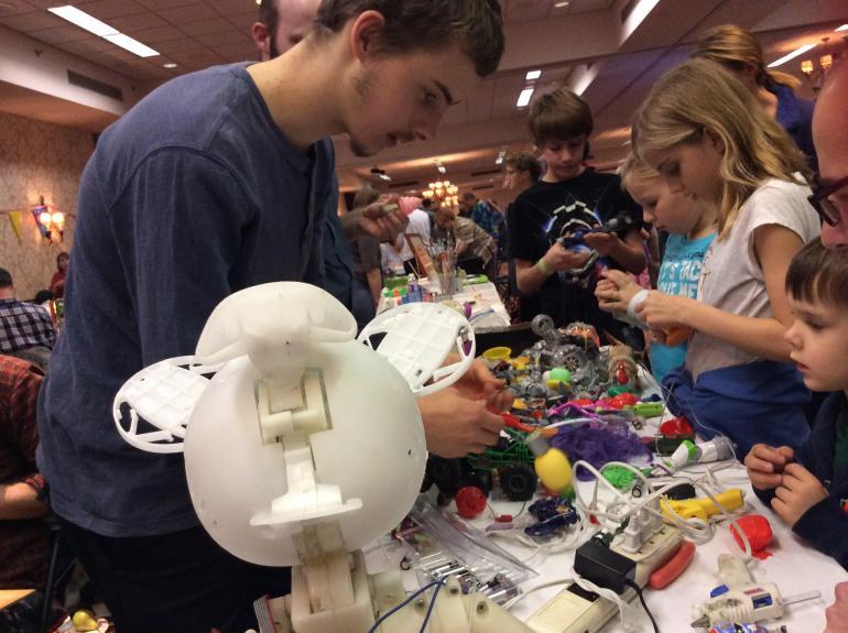 Rochester Mini Maker Faire in Rochester, NY