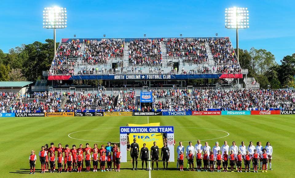 U.S. Women's National Team - courtesy of ISI Photos