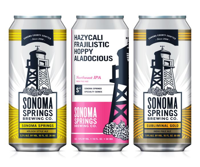 Sonoma Springs Cans